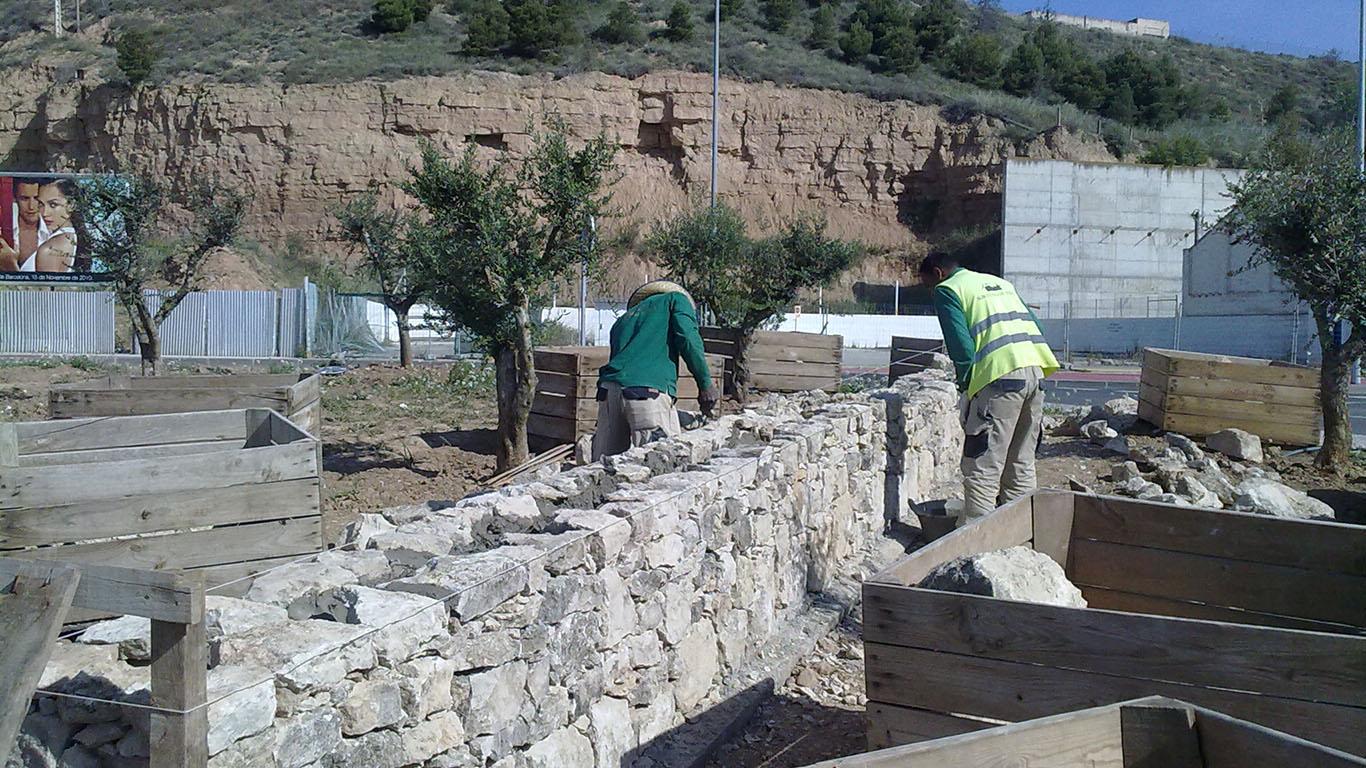 Mur pedra seca